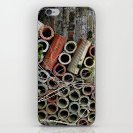 Pipe Texture iPhone Skin