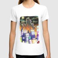 godzilla T-shirts featuring Godzilla by David Pavon