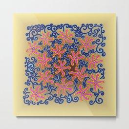 bungong jeumpa series: lightbrown Metal Print
