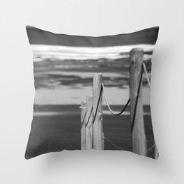 Way to the beach. Throw Pillow