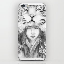 Yer, the tiger iPhone Skin
