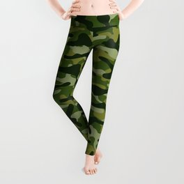 Forest Camouflage Leggings