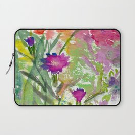 Sundrenched Floral Laptop Sleeve