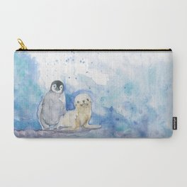 Penguin and Seal Carry-All Pouch