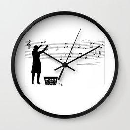 Making music Wall Clock