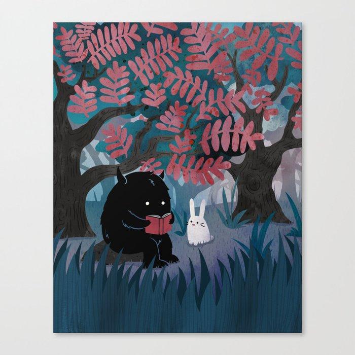Another Quiet Spot Canvas Print