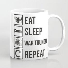 Eat, Sleep, War Thunder, Repeat Coffee Mug