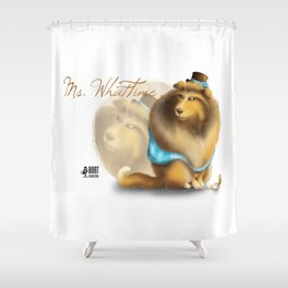 Ms. WhatTime Shower Curtain
