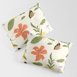 Flowers & Butterflies Pillow Sham