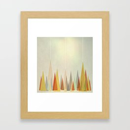 Forest (iPhone Created) Framed Art Print