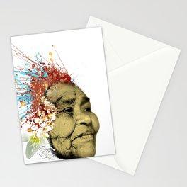"""Gabriela"" of the Kaweskar People - Color Stationery Cards"