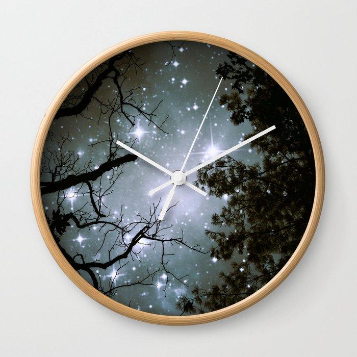 Starry Night Sky 2 Wall Clock