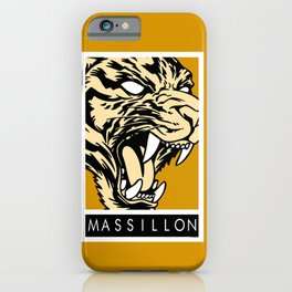 MASSILLON TIGER iPhone Case