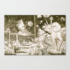 The Road to the Outer Oops Canvas Print