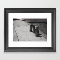 Loiterers Framed Art Print