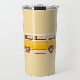 Van - Yellow Travel Mug