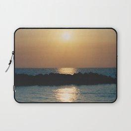 Sunset Ocean Bliss #6 #nature #art #society6 Laptop Sleeve
