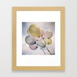 balloons! Framed Art Print