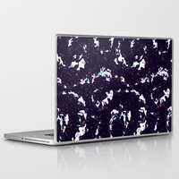 milky way Laptop & iPad Skins featuring Milky Way by Call Me Chartreuse