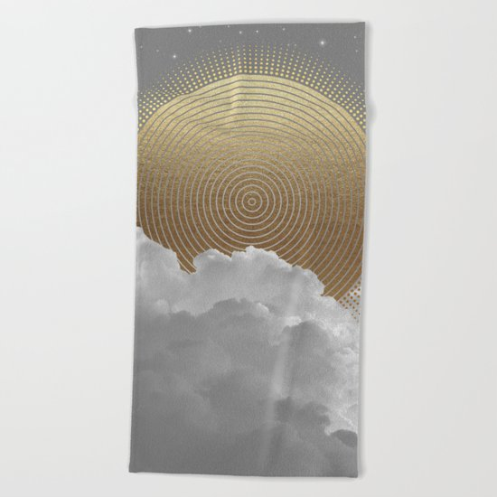 Nothing Gold Can Stay (Stay Gold) Beach Towel