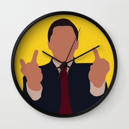 The Wolf of Wall Street movie Wall Clock