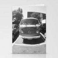vans Stationery Cards featuring VW vans by Rachel Wisniewski