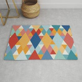 Colorful Geometry III Rug