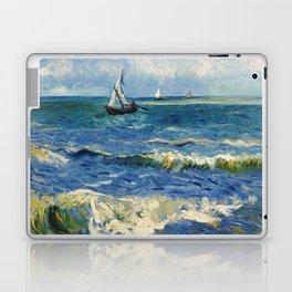 Seascape near Les Saintes-Maries-de-la-Mer by Vincent van Gogh Laptop & iPad Skin