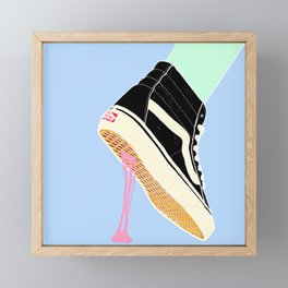BUBBLE GUM NEVER DIES Framed Mini Art Print