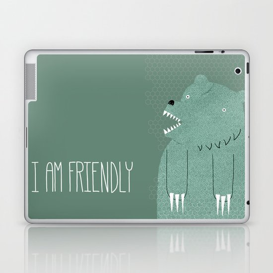 Friendly Bear Laptop & iPad Skin