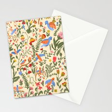 Tropical Garden Pattern Stationery Cards