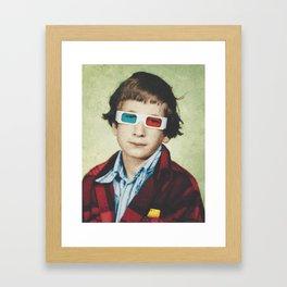 Classmates - Billy Framed Art Print