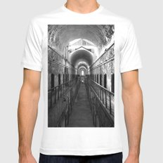 Eastern State Penitentiary  MEDIUM Mens Fitted Tee White