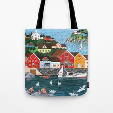 Swan's Cove Tote Bag