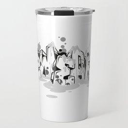 Dae120 blocks graffiti style ver.0.3 Travel Mug