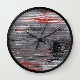 Corrugations Wall Clock