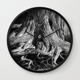 Lovecraft Roots Wall Clock