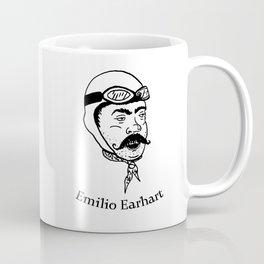 Emilio Earhart Coffee Mug