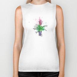 Bromeliad flower pot Biker Tank