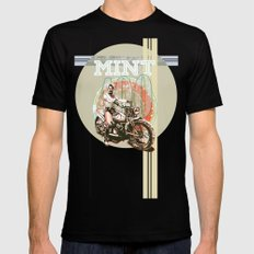 MINT 400 Black SMALL Mens Fitted Tee