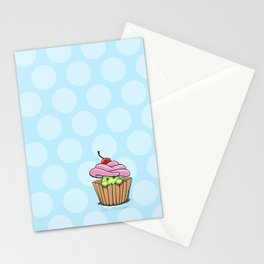 Cupcake Fluff Stationery Cards