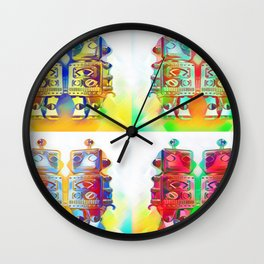 Panda Den: Mr Robot Wall Clock