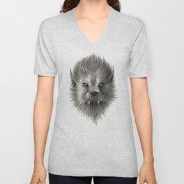 Werewolf beast Unisex V-Neck