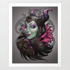 Mistress of Evil Art Print
