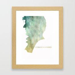 Mr. Holmes Framed Art Print