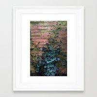 silent Framed Art Prints featuring Silent  by KunstFabrik_StaticMovement Manu Jobst