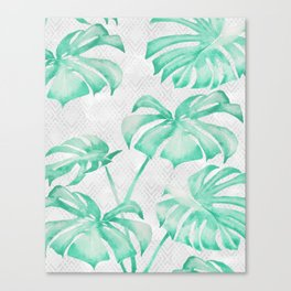 city leaf Canvas Print