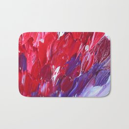 Strokes in love Bath Mat