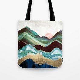 Velvet Mountains Tote Bag
