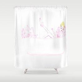 Linda's Bubble Bath Shower Curtain